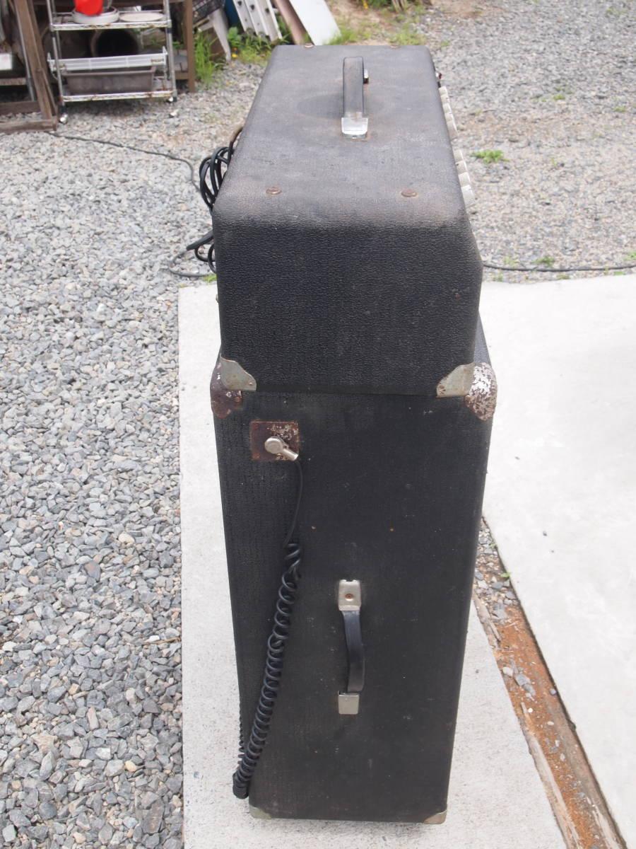 ELK? ECHO? Twin-Amp 50 ツインアンプ50 ジャンク品 ビンテージ 1960年代 チューブアンプ 真空管 _画像3