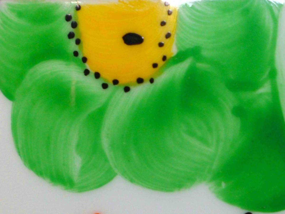 ★Freeway★c1914 パラゴン「アール・ヌーボーの緑の花」(F1997)_画像6