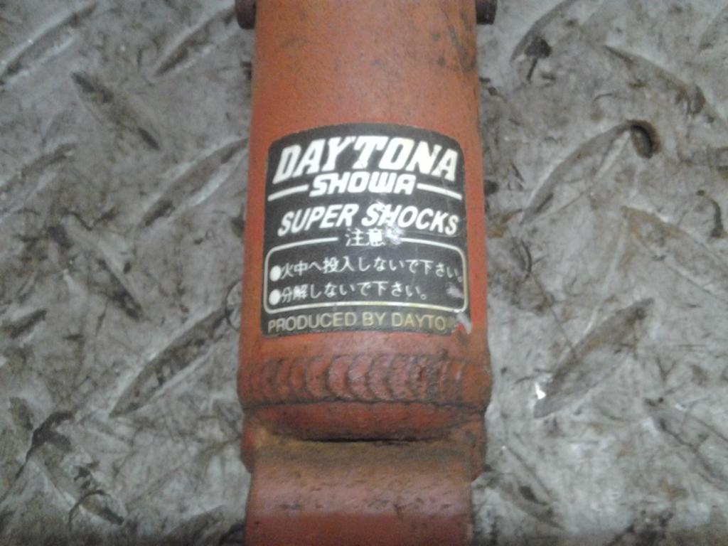 ヤマハ スーパー JOG ZR 3YK 実働外し 社外 Daytona Showa リア サスペンション 検索 G-74 リアサス ショック YAMAHA ジョグ 3YJ 3KJ 4LV_画像7