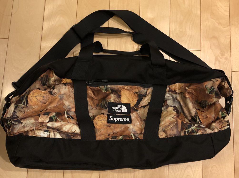 1ab6a63f0 SUPREME × THE NORTH FACE (シュプリーム×ザ ノースフェイス) エイペックスダッフルバッグ Apex Duffel Bag  LEAVES