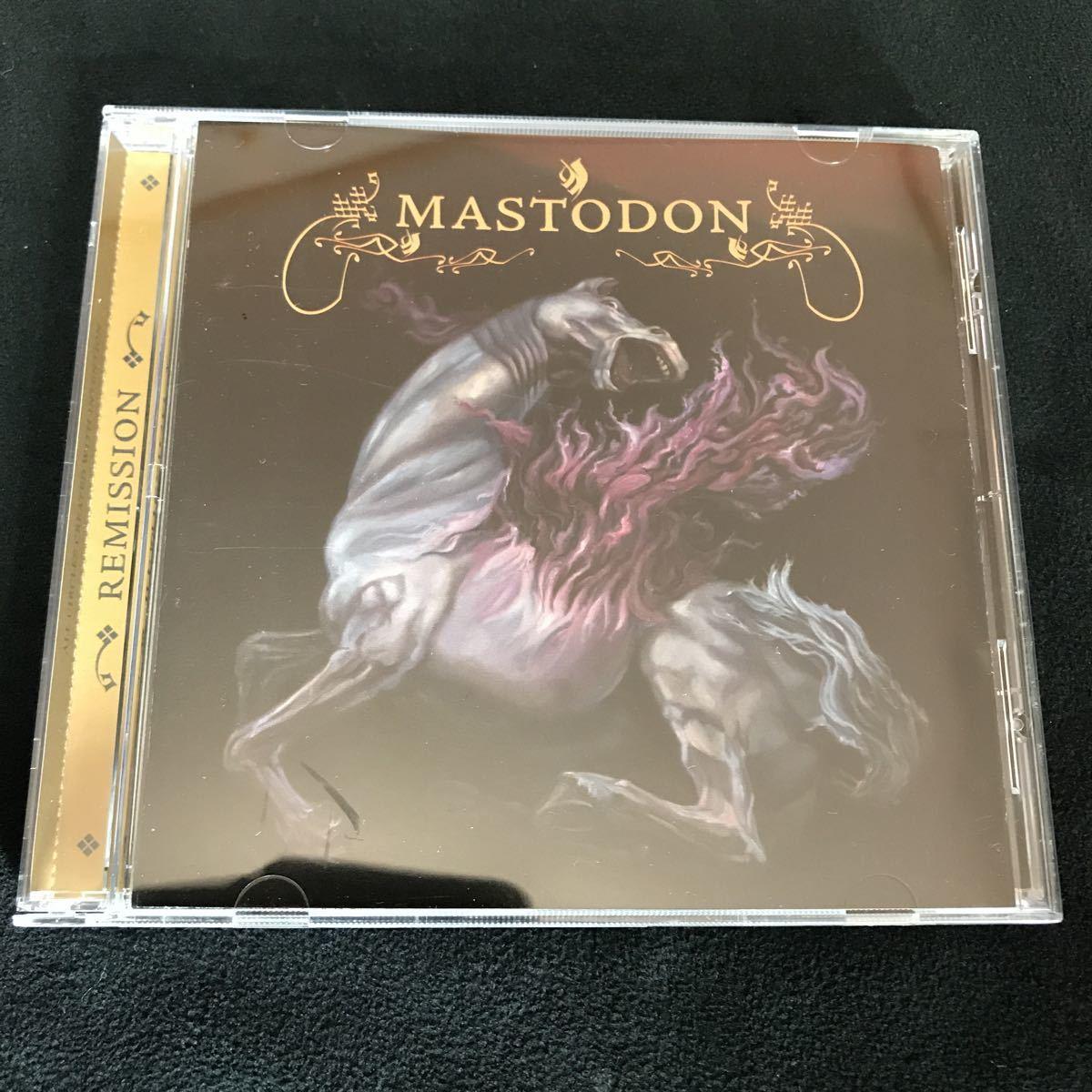 Mastodon Remission 国内盤帯和訳付 マストドン