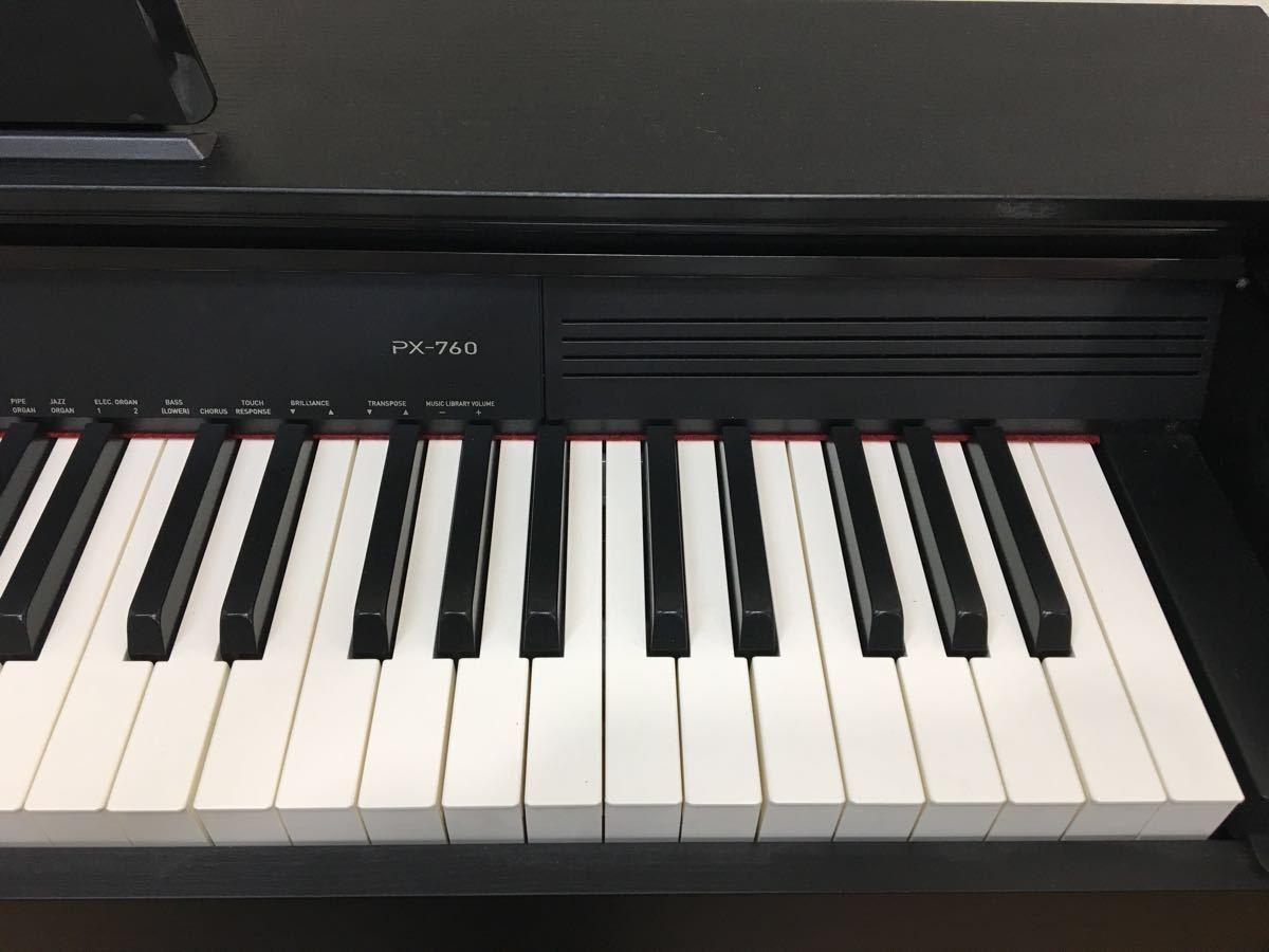 ◇ 直接引き取り限定 CASIO カシオ PriviA 電子ピアノ PX-760 2015年製◇_画像3