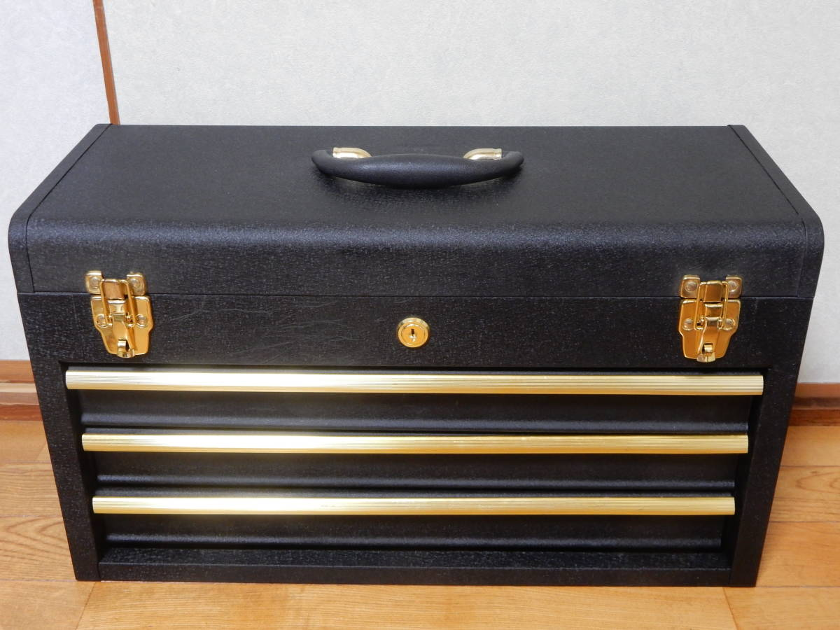工具箱 ツールボックス 三段 そこそこ美品