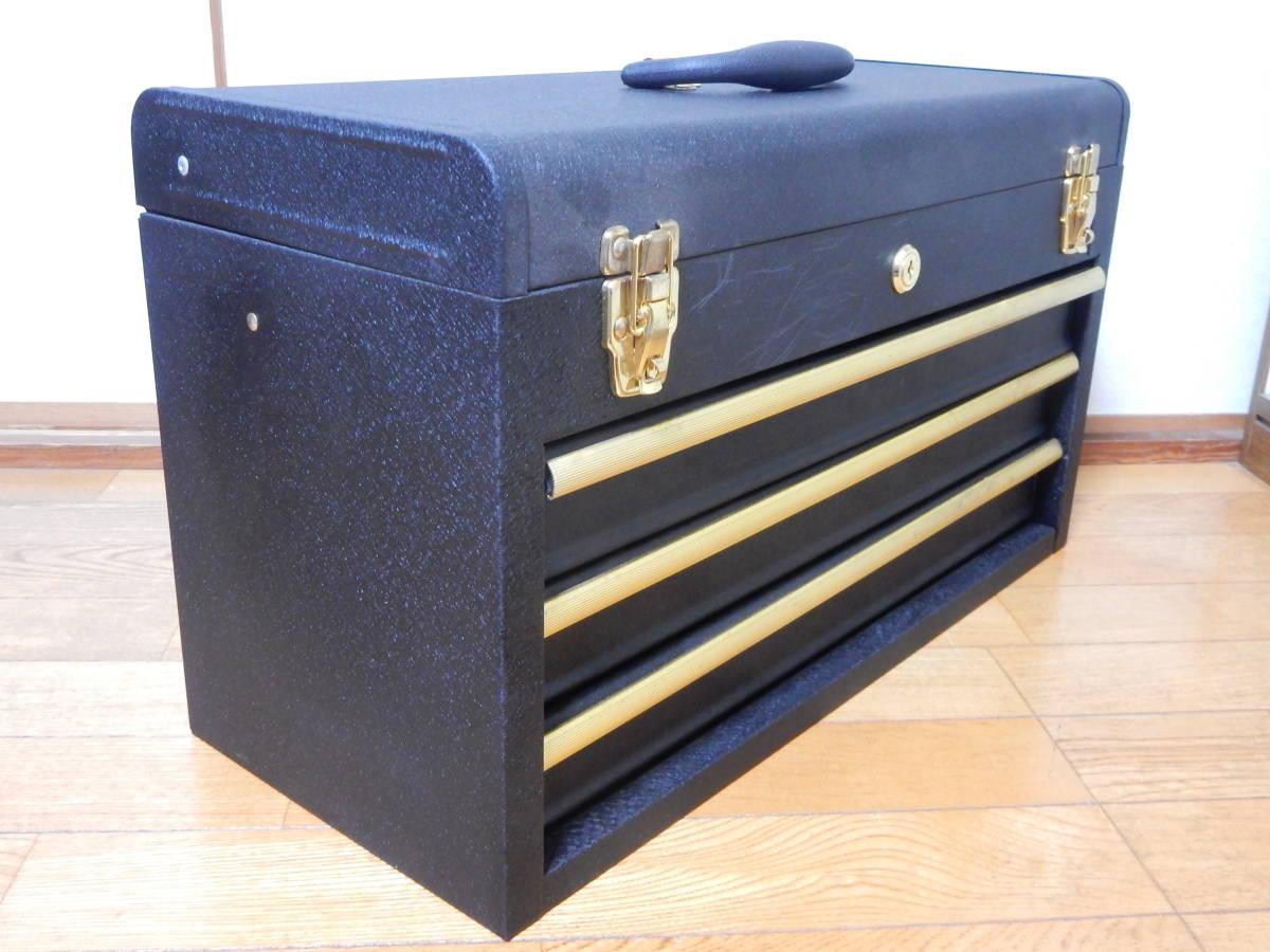 工具箱 ツールボックス 三段 そこそこ美品_画像6