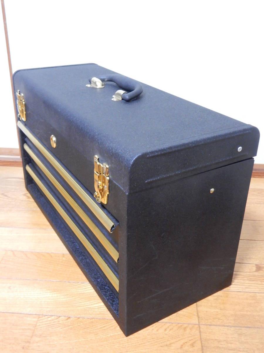 工具箱 ツールボックス 三段 そこそこ美品_画像4