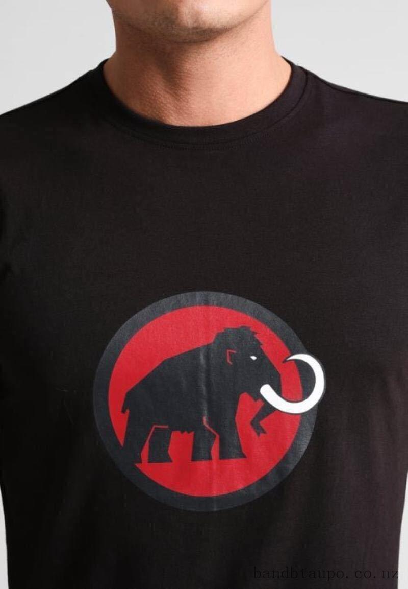 売切1円~新品正規品☆マムート Mammut Logo Tシャツ ブラック ユーロ:Sサイズ(アジア:Mサイズ)_画像2