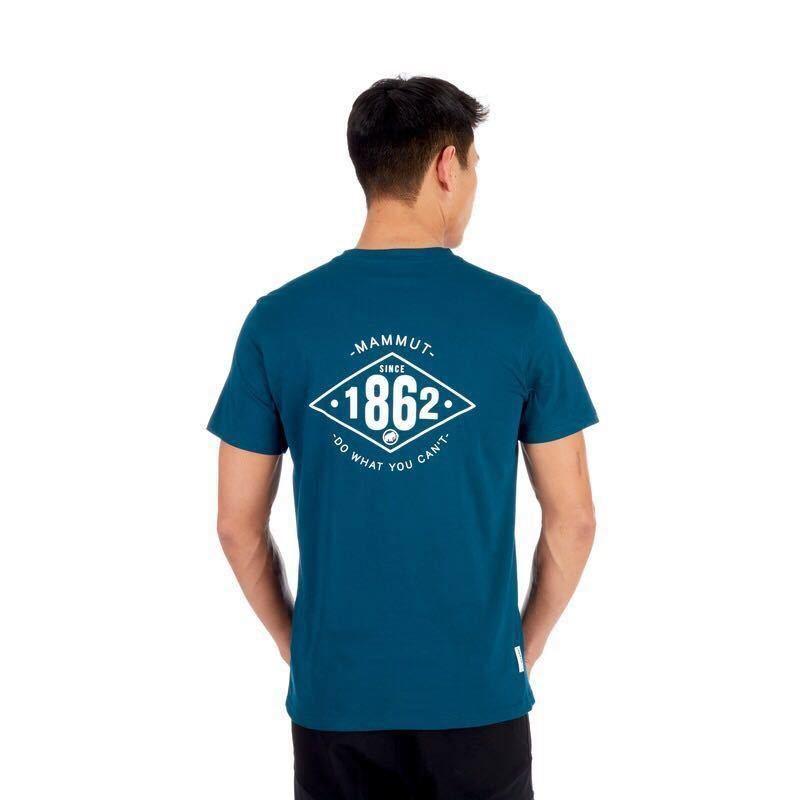 1円~新品正規品☆マムート Mammut Seile Tシャツ Poseidon PRT2 ユーロ:Mサイズ(アジア:Lサイズ)_画像3