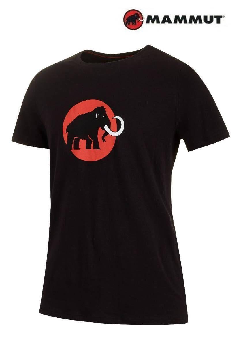 売切1円~新品正規品☆マムート Mammut Logo Tシャツ ブラック ユーロ:Sサイズ(アジア:Mサイズ)