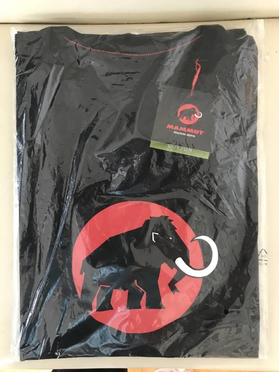 売切1円~新品正規品☆マムート Mammut Logo Tシャツ ブラック ユーロ:Sサイズ(アジア:Mサイズ)_画像4