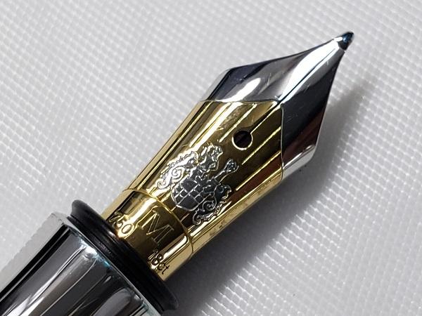 Graf von Faber-Castell グラフフォンファーバーカステル 万年筆 ギロシェ コーラルレッド ペン先 18K 750 M ドイツ_画像9