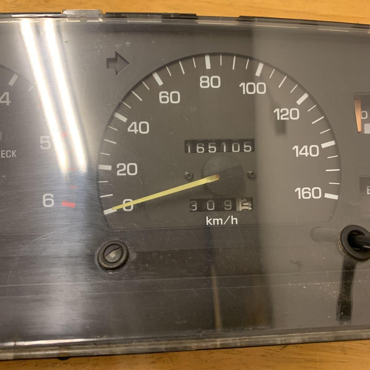ハイラックスサーフ 130 スピードメーター_画像3