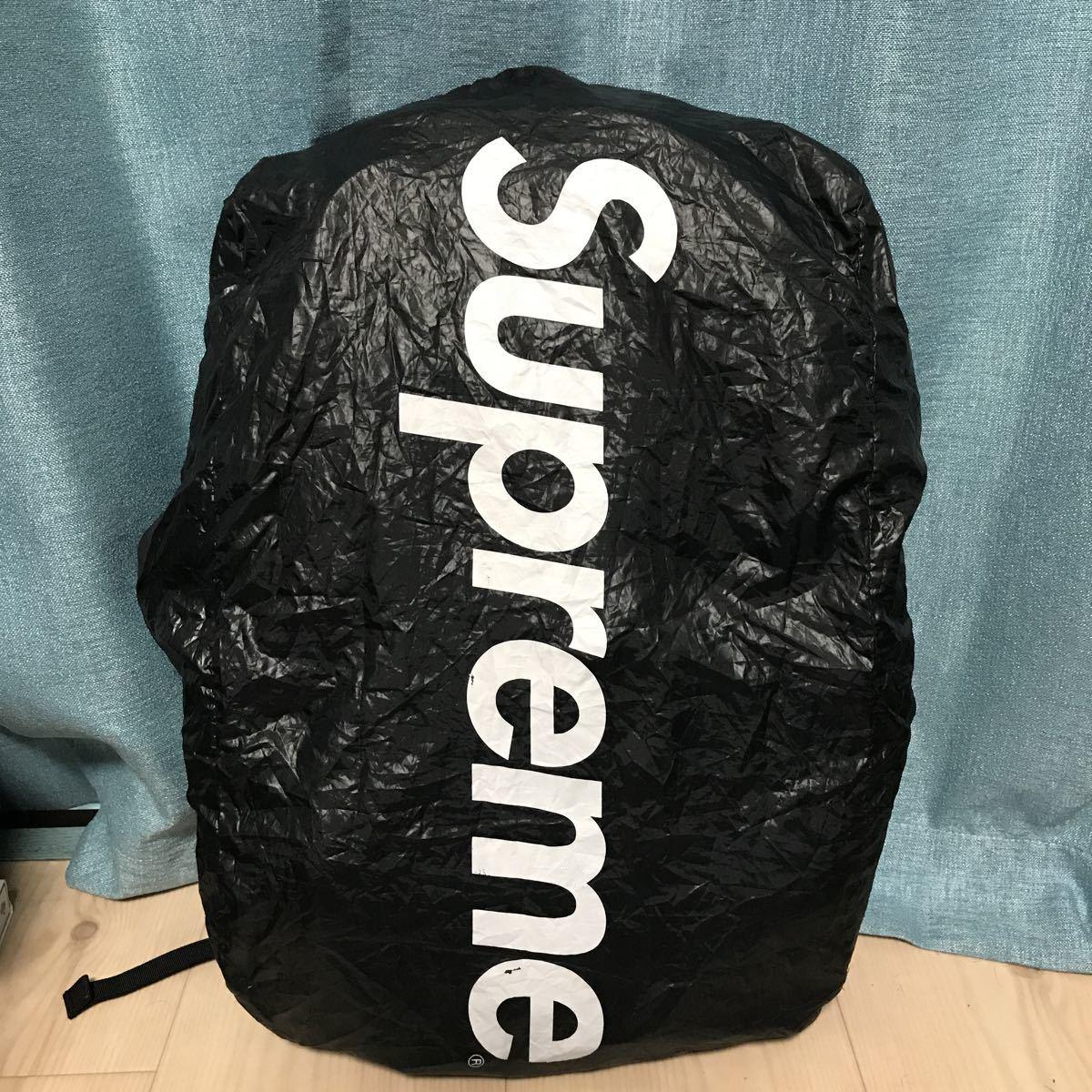 美品 Supreme 15SS Backpack シュプリーム バックパック リュック カバン 鞄 バッグ Bag レッド 赤 Red レインカバー付き_画像8