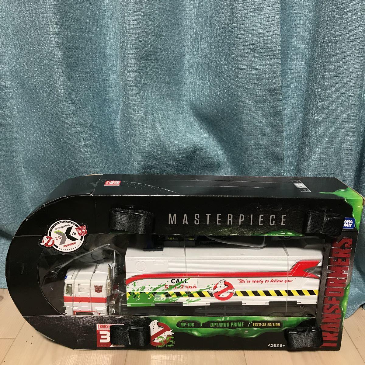 激レア 新品 Ghostbusters x Transformers MP-10G Optimus Prime ECTO-35 ゴーストバスターズ トランスフォーマー オプティマス プライム_画像7
