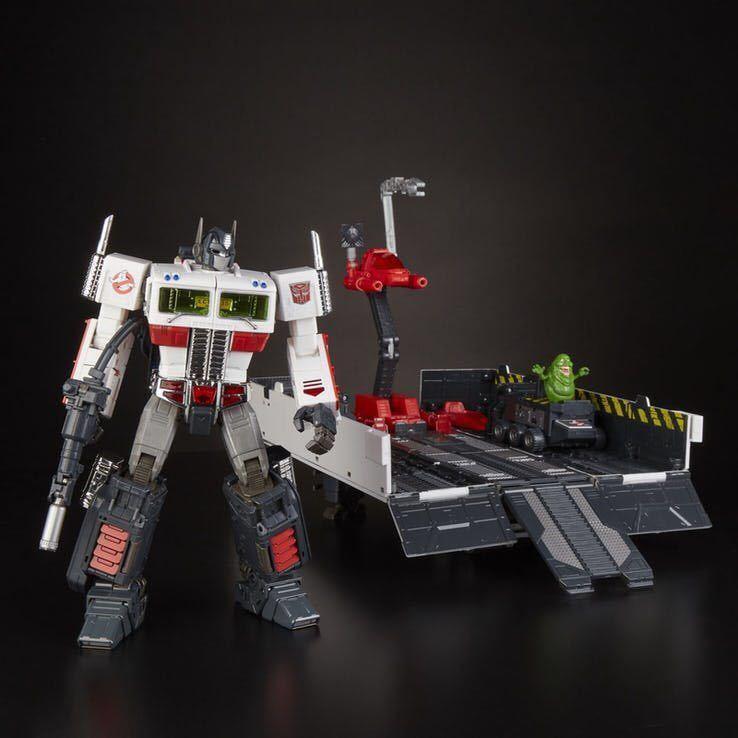 激レア 新品 Ghostbusters x Transformers MP-10G Optimus Prime ECTO-35 ゴーストバスターズ トランスフォーマー オプティマス プライム_画像3