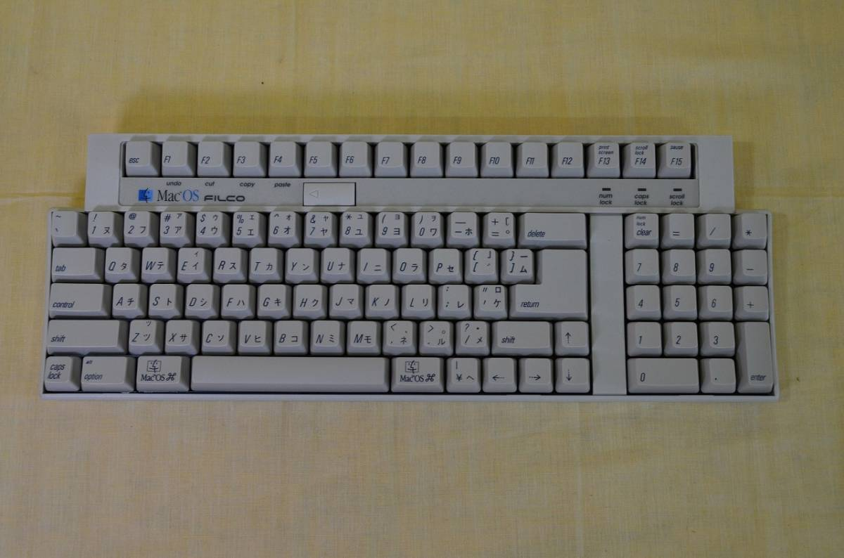 ♪♪22[お得]FILCO for Apple Macintosh 97拡張コンパクトキーボード♪♪_画像2