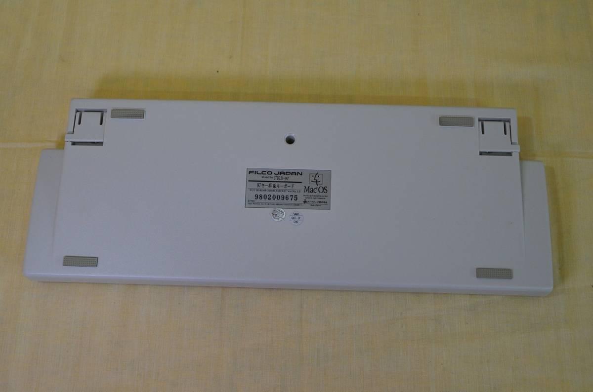 ♪♪22[お得]FILCO for Apple Macintosh 97拡張コンパクトキーボード♪♪_画像5