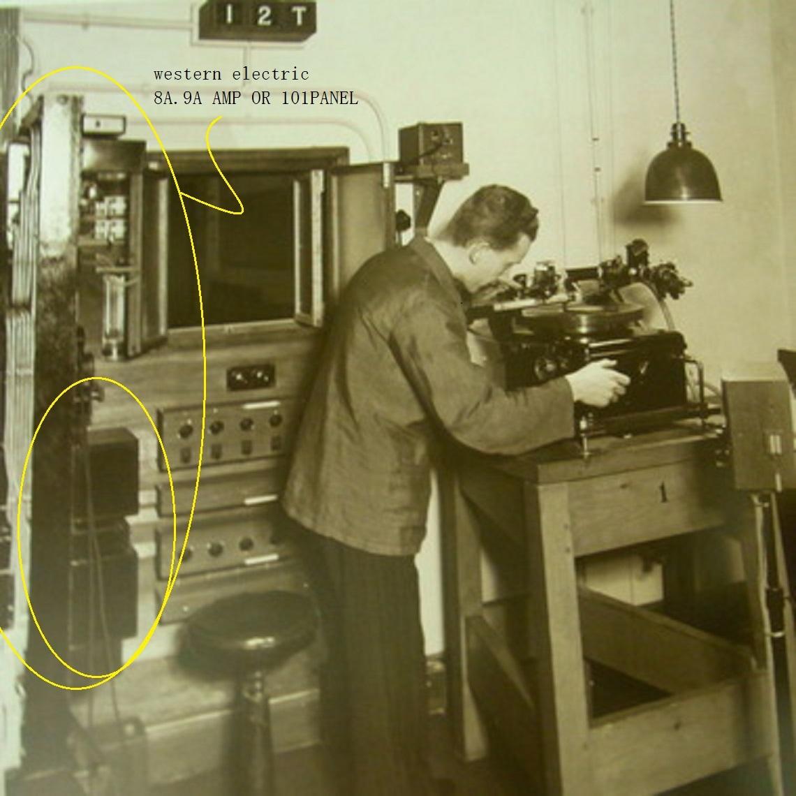 Western Electric  D94019 ミキシングPANEL 初期録音機材 ペア 2台_画像6