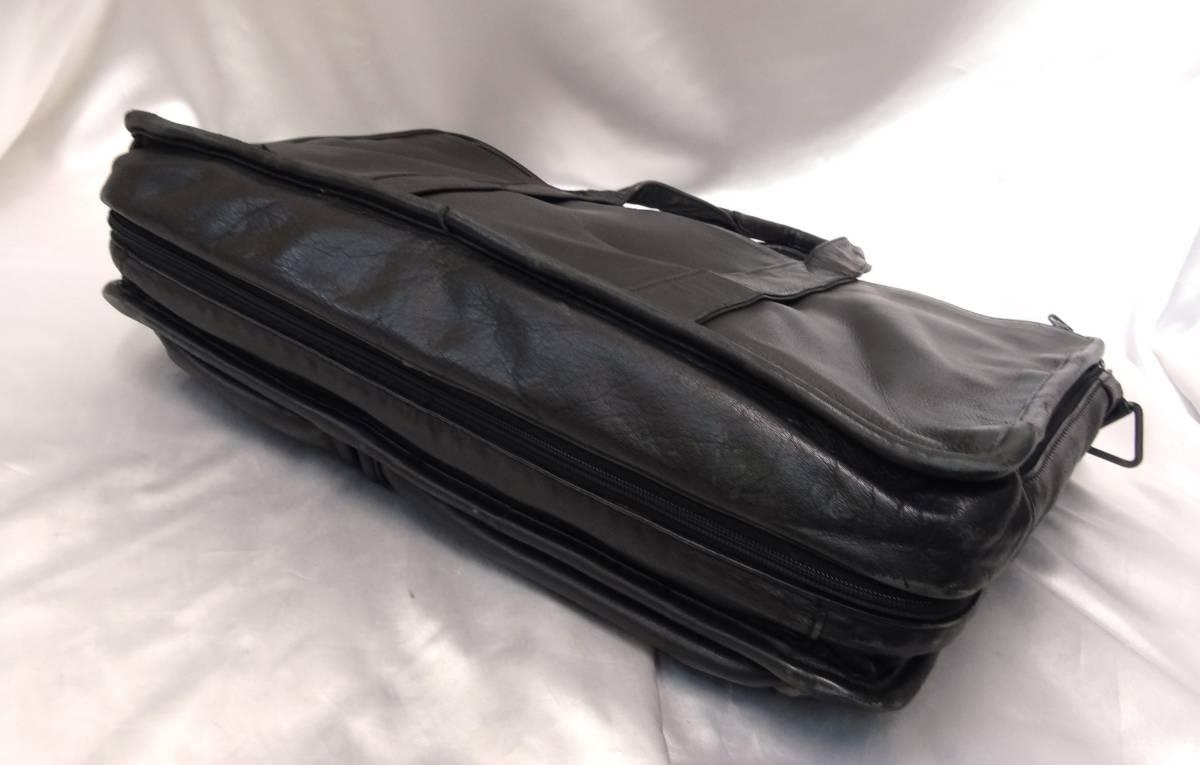 TUMI トゥミ ★ ブリーフバッグ・書類バッグ ★ 本革素材 ★ ブラック_画像6