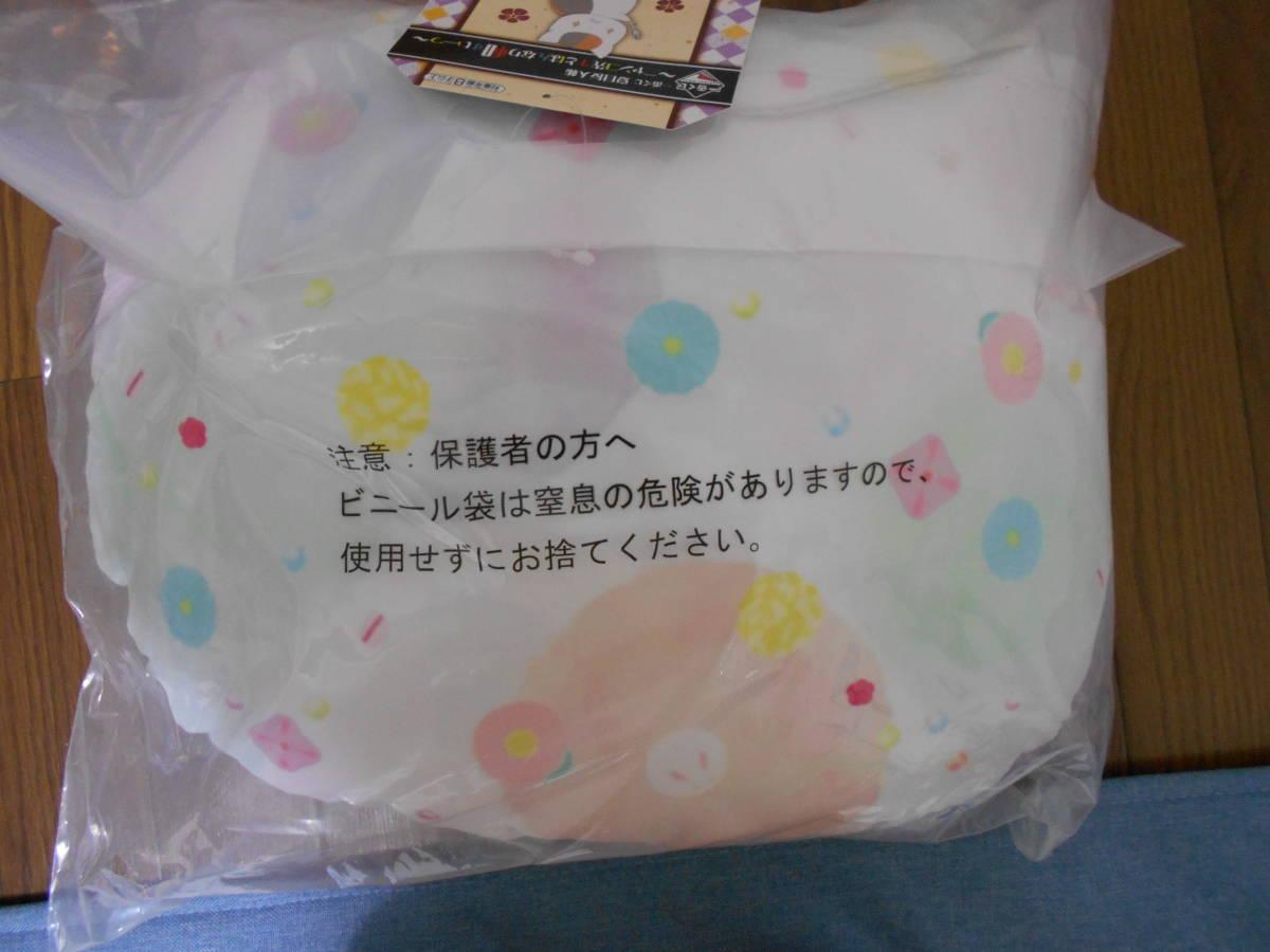 夏目友人帳 一番くじ B賞 ニャンコ先生クッション ニャンコ先生とはんなり和すいーつ_画像2