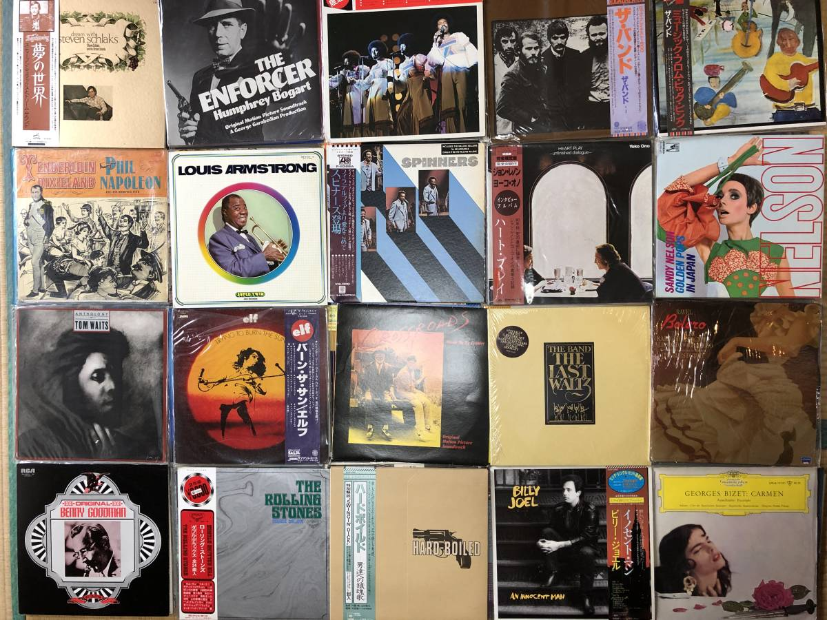 大量まとめ売り!LPレコード全80枚まとめて! 洋楽/クラシック/ロック/ポップス/その他ジャンルいろいろ!_画像4