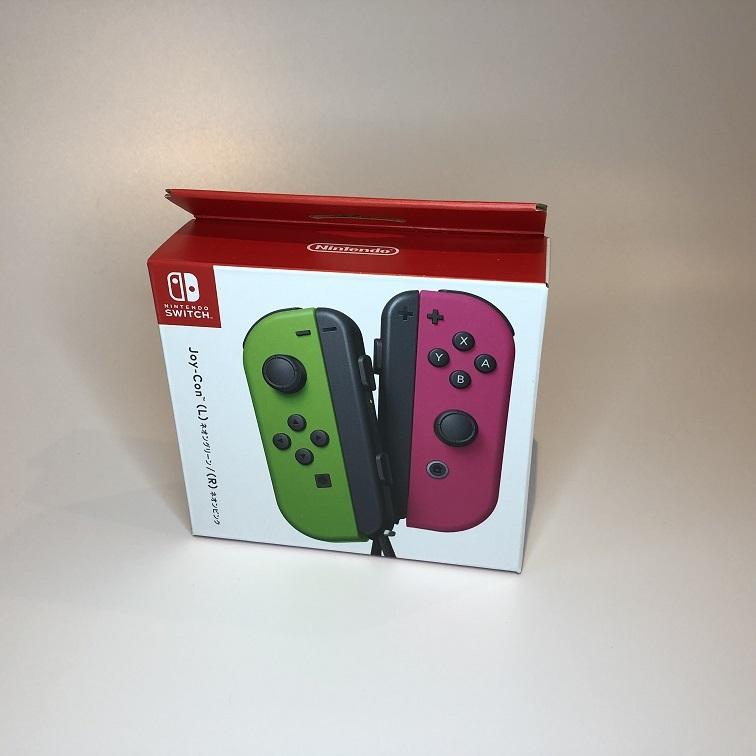 〈新品未開封 〉 Joy-Con ジョイコン スイッチ コントローラー ネオングリーン(L)/ネオンピンク(R) Nintendo Switch