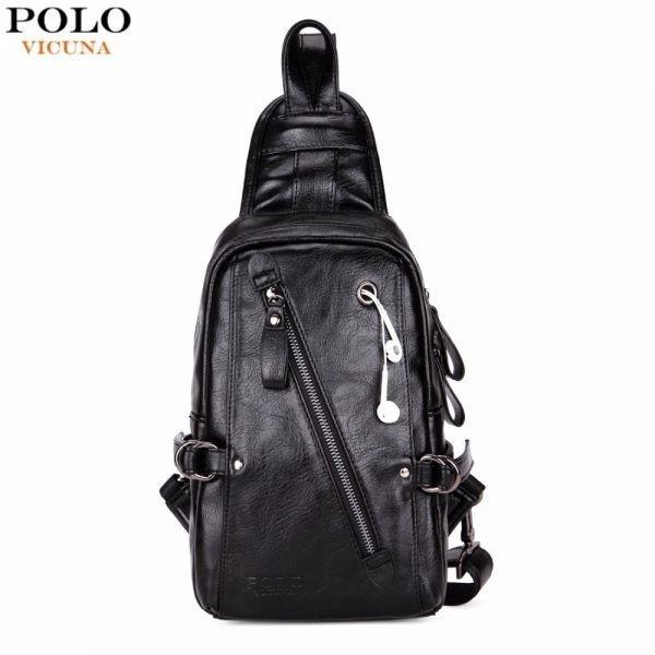 ★最安値★ショルダーバッグ メンズ VICUNA POLO 海外ブランド 高級 革 レザー ヴィンテージ ボディバッグ V9911