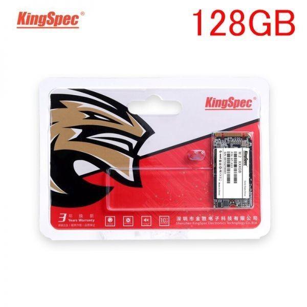 ★最安 安心の国内対応★KingSpec SSD mSATA 128GB 新品未開封 3D NAND TLC 内蔵型 MT-256 デスクトップPC ノートパソコン_画像1