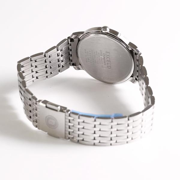 1円~ CITIZEN シチズン エクシード 0331-T005578 クオーツ メンズ 腕時計 中古_画像3