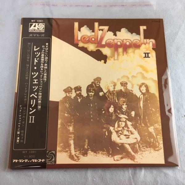【日本初版】レッド・ツェッペリンⅡ【グラモフォン MT 1091】補充票 付_画像10