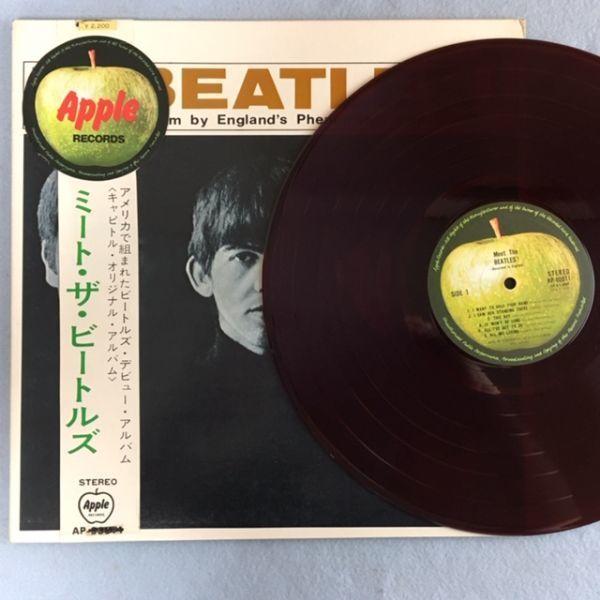 【丸帯】ミート・ザ・ビートルズ【赤盤】AP-80011