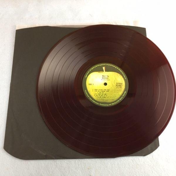 【丸帯】ミート・ザ・ビートルズ【赤盤】AP-80011_画像6