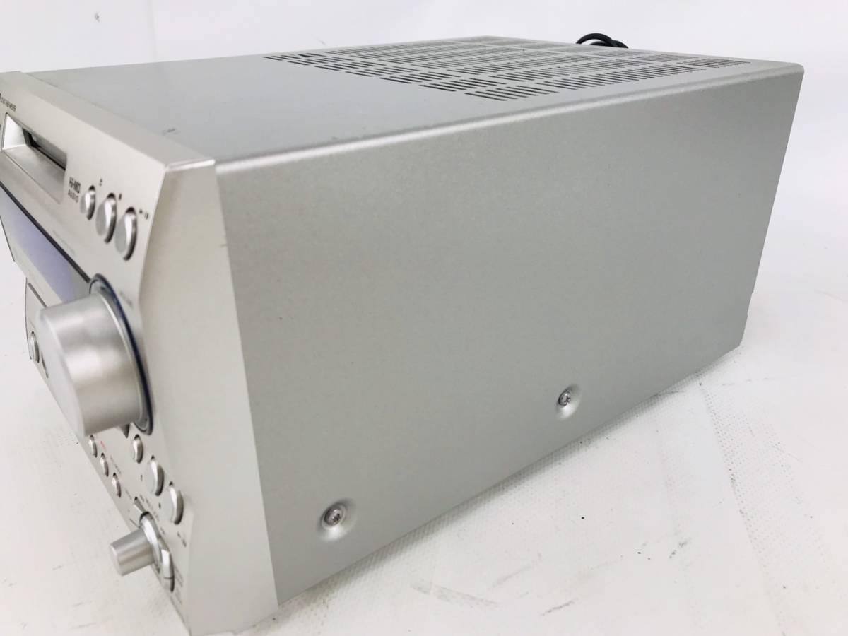 [7-218] ONKYO オンキョー FR-N7TX CD/MD チューナー アンプ システム オーディオ機器 通電可_画像4