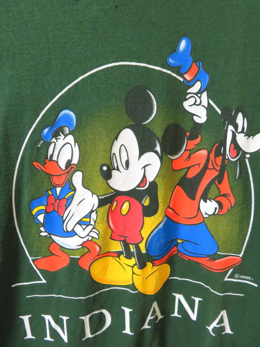 90s ディズニー ★ USA製 ミッキー ドナルド グーフィー 半袖 Tシャツ M ★ Disney アメリカ 古着 ヴィンテージ_画像3