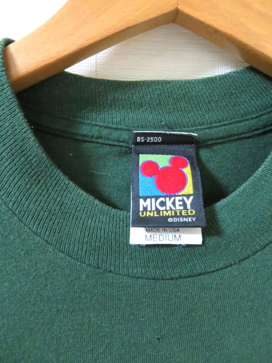 90s ディズニー ★ USA製 ミッキー ドナルド グーフィー 半袖 Tシャツ M ★ Disney アメリカ 古着 ヴィンテージ_画像6