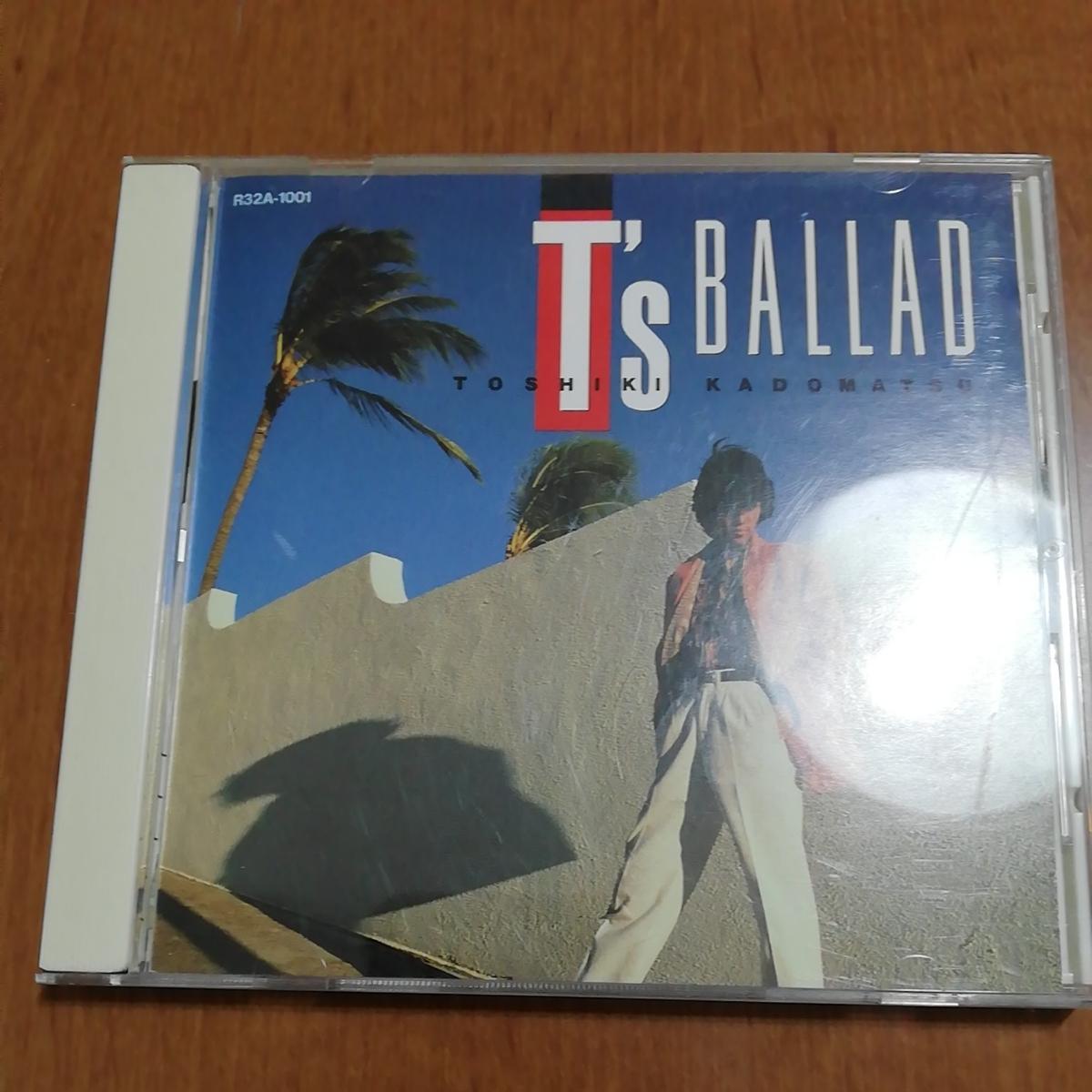 中古CD T's BALLAD 角松敏生