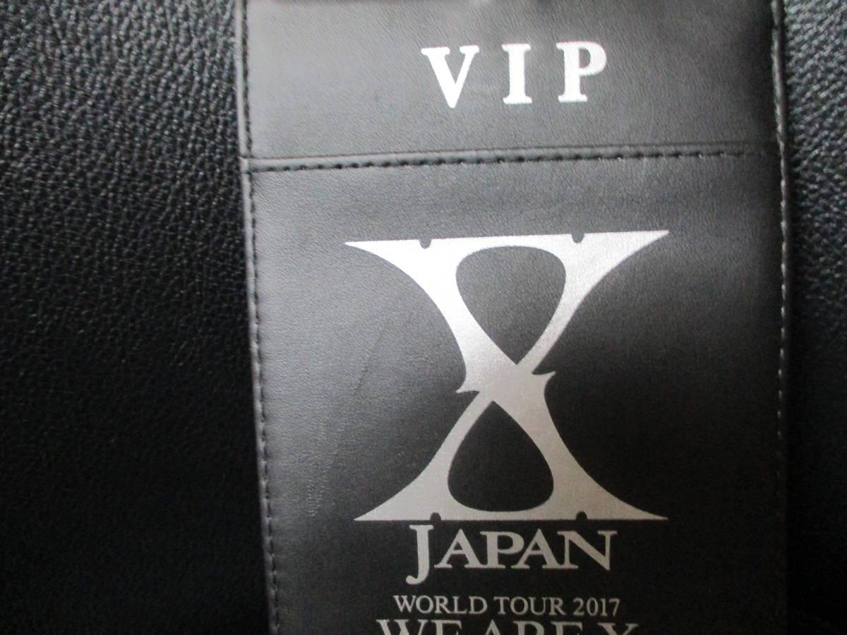 新品 未使用 非売品 X JAPAN WE ARE X プラチナ限定 限定 限定グッズ パスケース YOSHIKI ToshI PATA HEATH SUGIZO 入手困難 値下げ ラスト_画像8