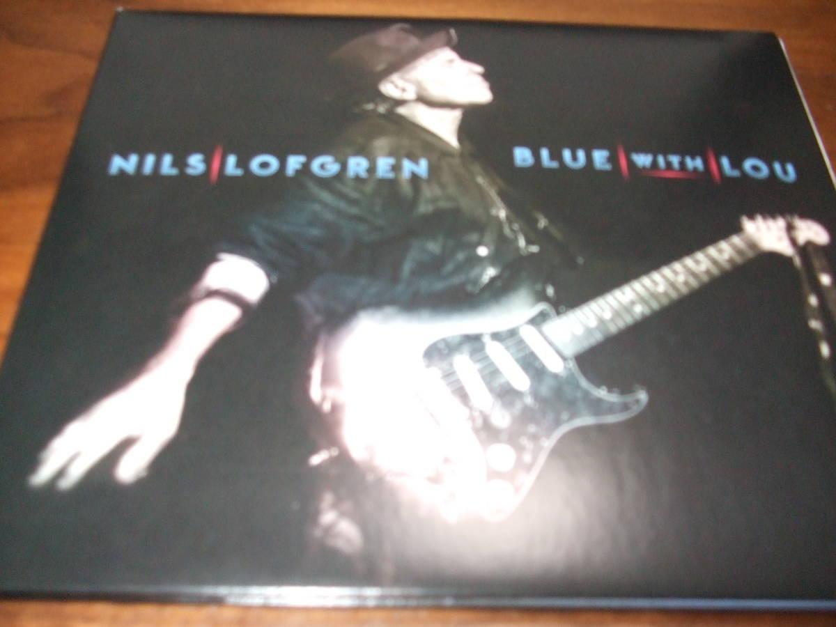 Nils Lofgren 《 Blue With Lou 》★米国名ギタリスト_画像1