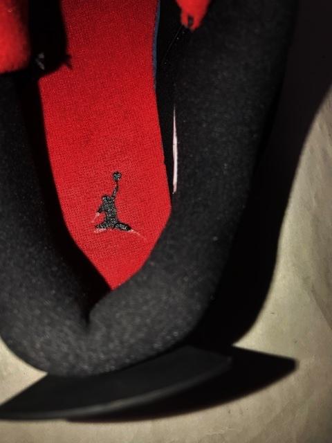 2018 NIKE ナイキ エアジョーダン 4 ラプターズ ジョーダン4 AIR JORDAN Raptors 靴 シューズ スニーカー 箱付 別注 コラボ 限定 レザー _画像3