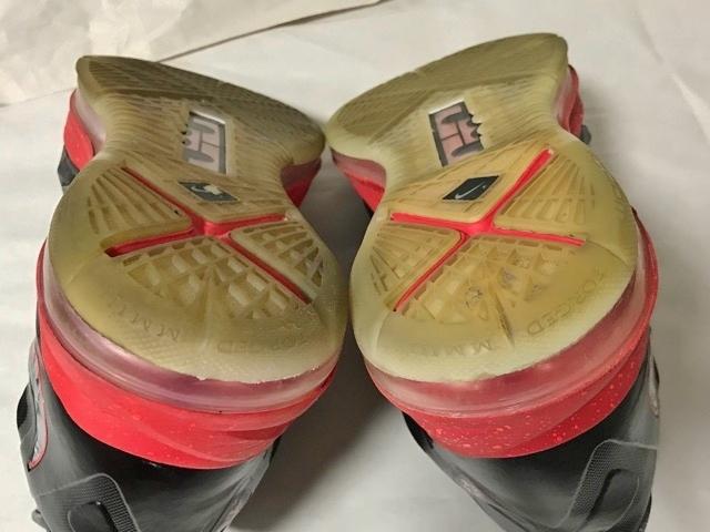 価約5万円 ナイキ レブロン NIKE LEBRON レブロン 10 ジェイムス LEBRON X バッシュ シューズ スニーカー ダンクマン dunk man james 23_画像6