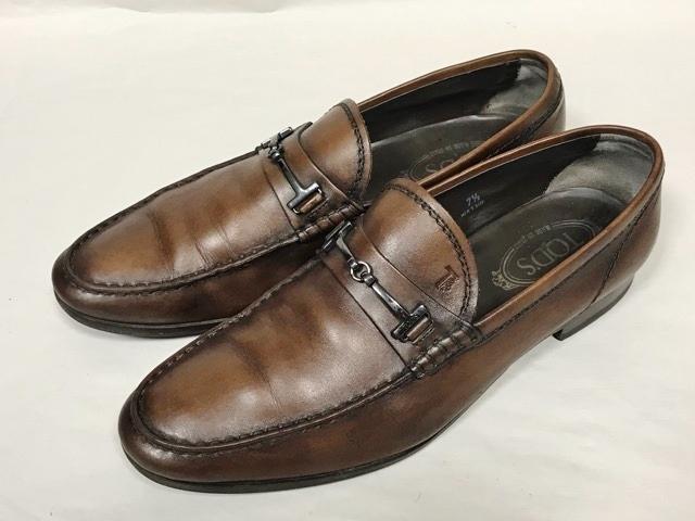 トッズ TOD'S メンズ アンティーク パティーヌ ビットローファー 革靴 ビジネスシューズ レザーシューズ ローファー ドライビングシューズ