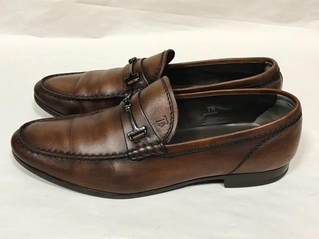 トッズ TOD'S メンズ アンティーク パティーヌ ビットローファー 革靴 ビジネスシューズ レザーシューズ ローファー ドライビングシューズ_画像2