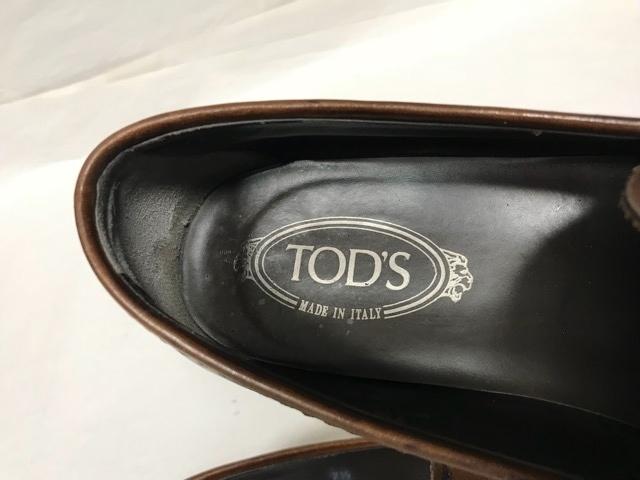 トッズ TOD'S メンズ アンティーク パティーヌ ビットローファー 革靴 ビジネスシューズ レザーシューズ ローファー ドライビングシューズ_画像4
