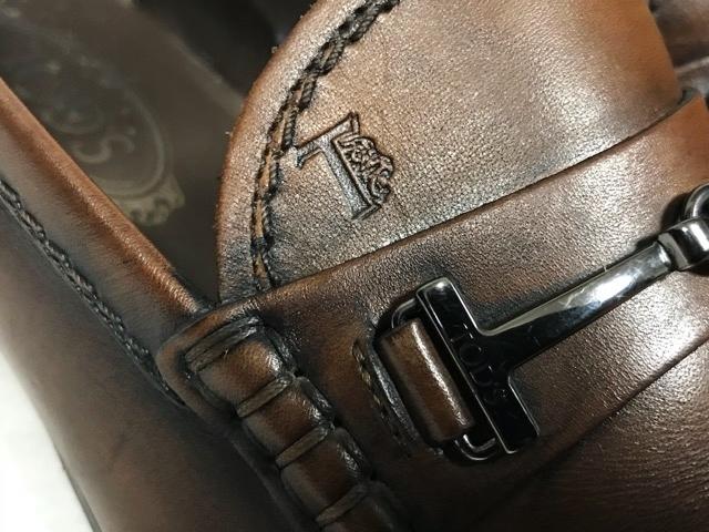 トッズ TOD'S メンズ アンティーク パティーヌ ビットローファー 革靴 ビジネスシューズ レザーシューズ ローファー ドライビングシューズ_画像6