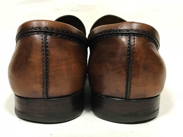 トッズ TOD'S メンズ アンティーク パティーヌ ビットローファー 革靴 ビジネスシューズ レザーシューズ ローファー ドライビングシューズ_画像7
