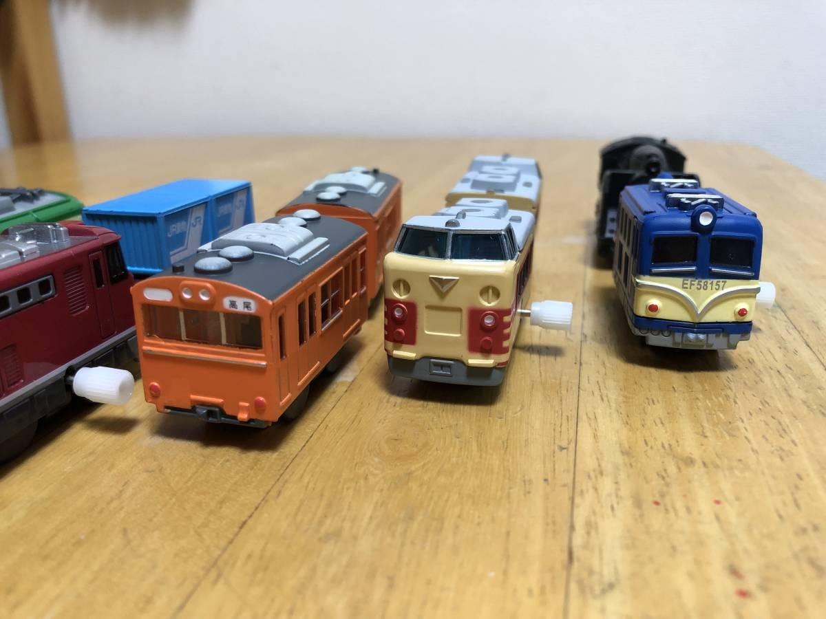 ■カプセルプラレール 昭和車両まとめて ゼンマイ車両6車両その他■_画像6