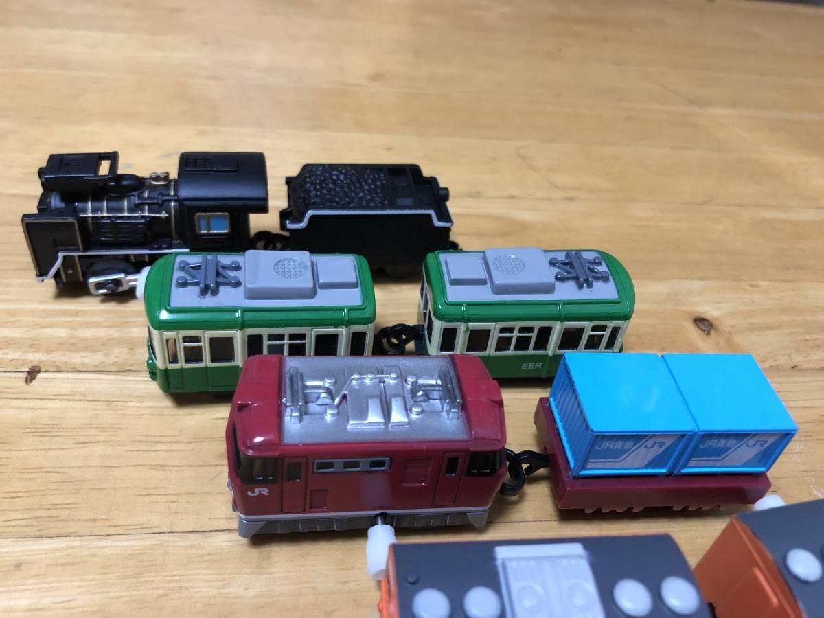 ■カプセルプラレール 昭和車両まとめて ゼンマイ車両6車両その他■_画像4
