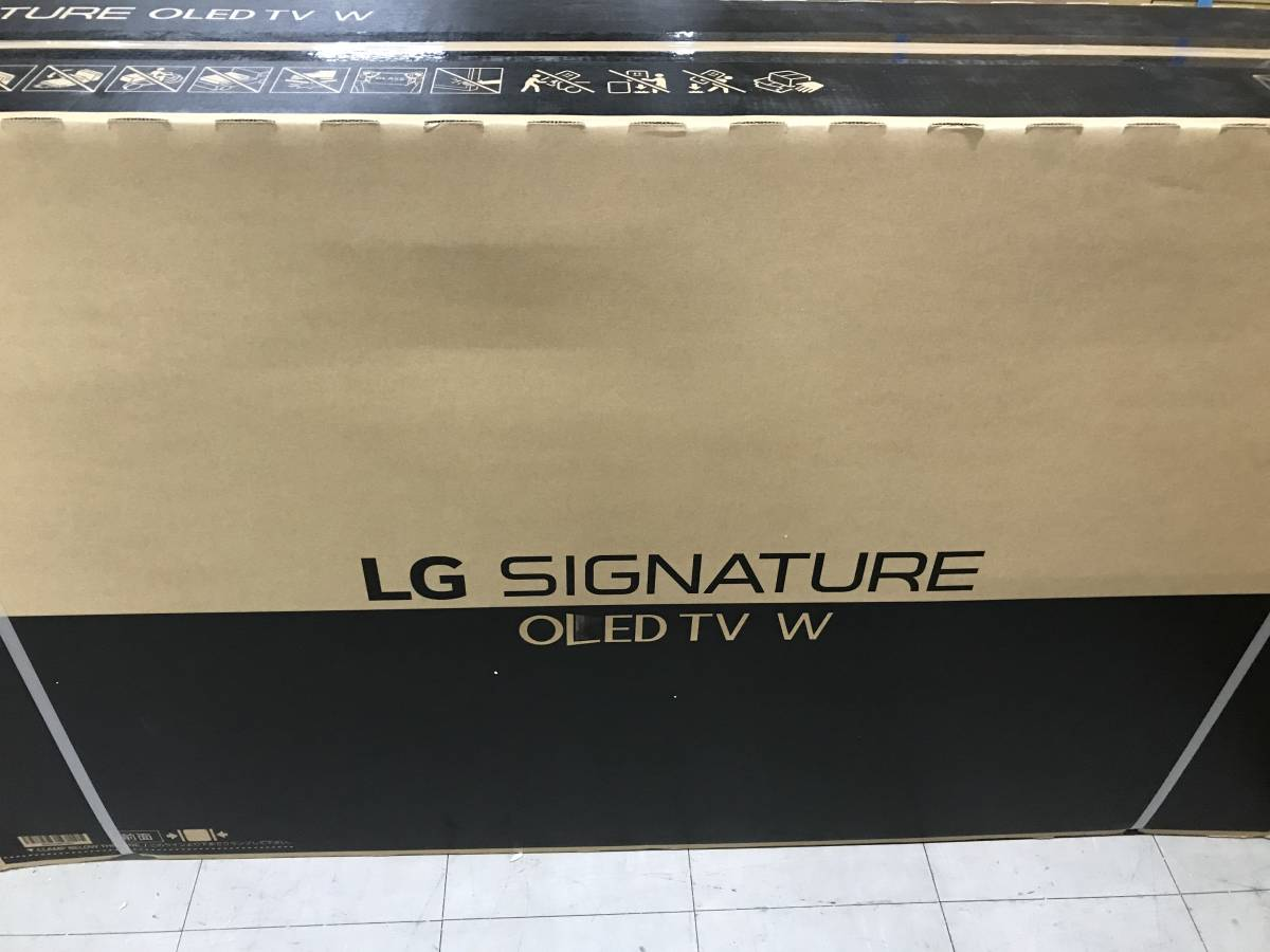 展示品 超美品 1台限定♪ LG エルジー OLED65W7P (65吋) 展示品(パネル新品) 4K有機ELTV★19年6月購入・安心の6年保証付 長期無料保証付_画像1