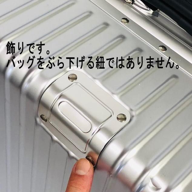 送料無料●1回使用●中古スーツケース大型67L●4輪キャリー●TSAロック●シルバー _画像10