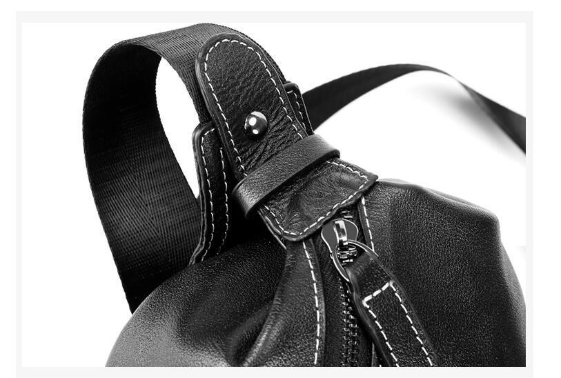 人气推薦商品【高級定価25万円】綺麗極上本革 ショルダーバッグ ジュアル//バッグ 厚手牛革鞄 ウエストバッグ 男女兼用 鞄4_画像5