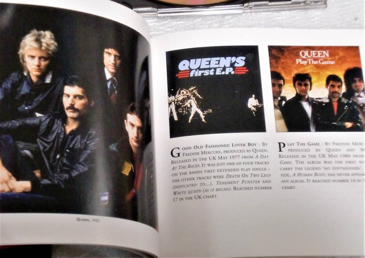 CD QUEEN GREATEST HITS Ⅰ&Ⅱ/クイーン グレイテストヒッツ Ⅰ&Ⅱ/TOCP-65056・57/2枚組/34曲_画像5